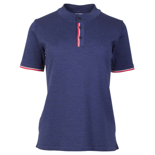 Dale of Norway Fredrikke T-shirt, Ladies - Navy/Red Rose/Off White, 93841-C