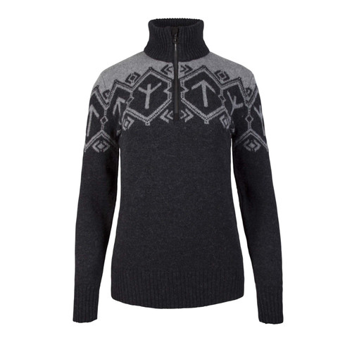 Dale of Norway Tora Pullover, Ladies - Dark Charcoal/Smoke, 93381-E