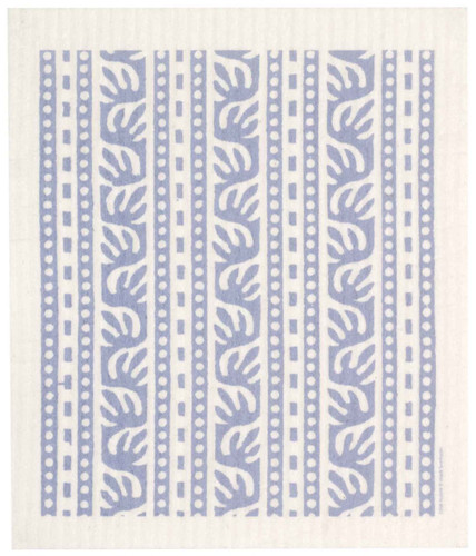 Swedish Dishcloth - Batikk, Blue