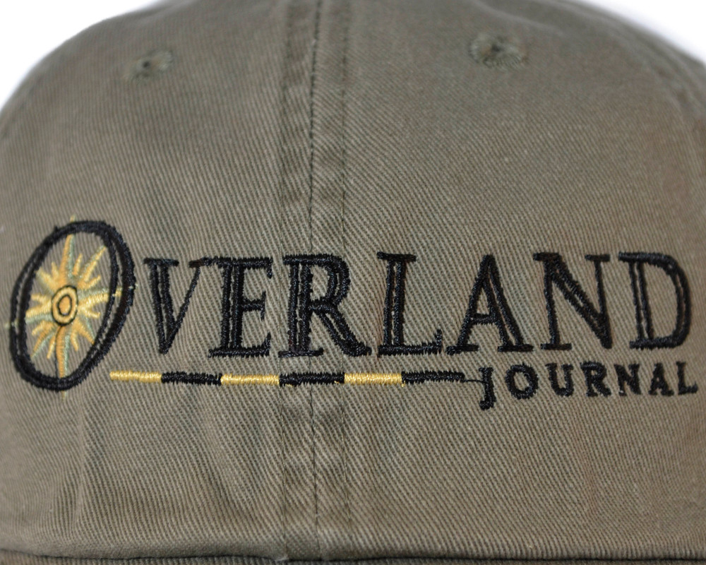 Overland Journal Olive Hat (Last chance)