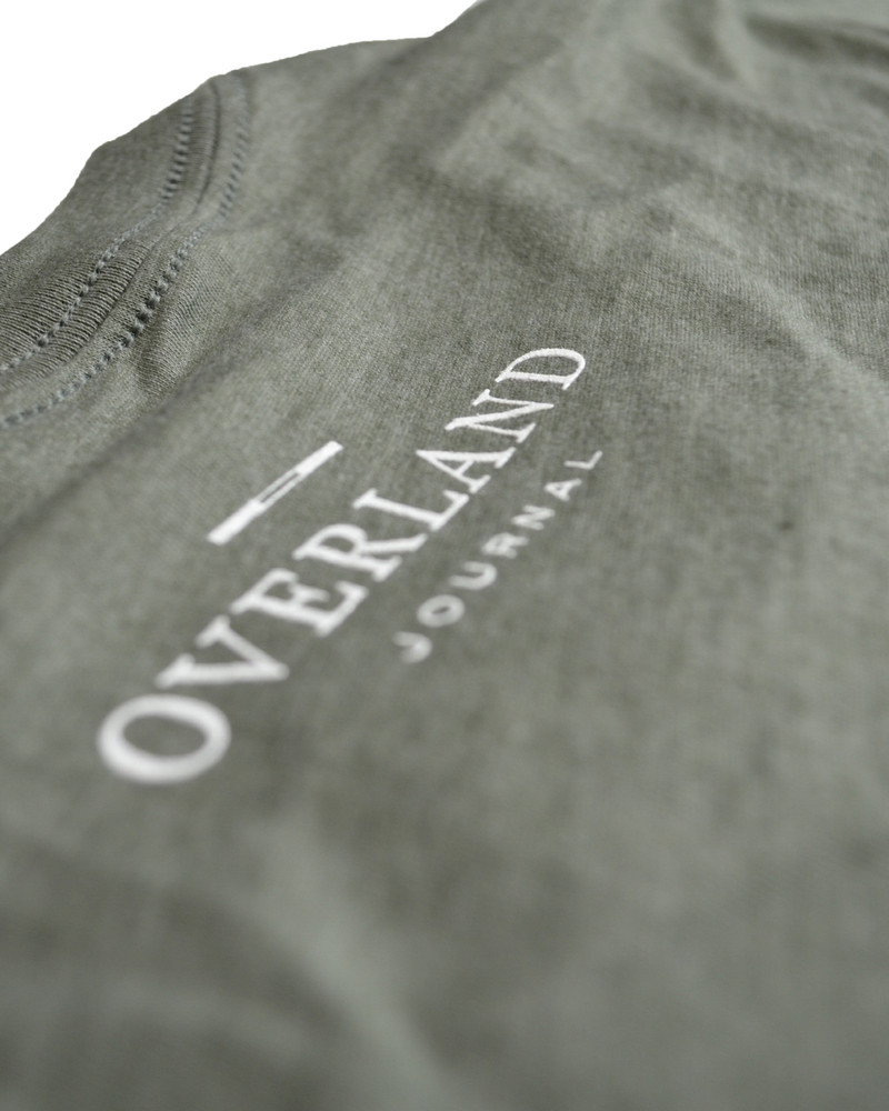 Classic Overlander Series - Defender 110 T-shirt (Military Green)