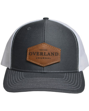 Overland Journal Hat with Leather Patch