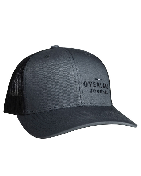 Overland Journal Black & Charcoal Hat