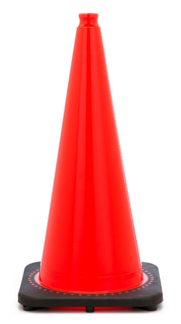 Traffic Safety Cone 18 Inch Traffic Cone Dornbos Sign
