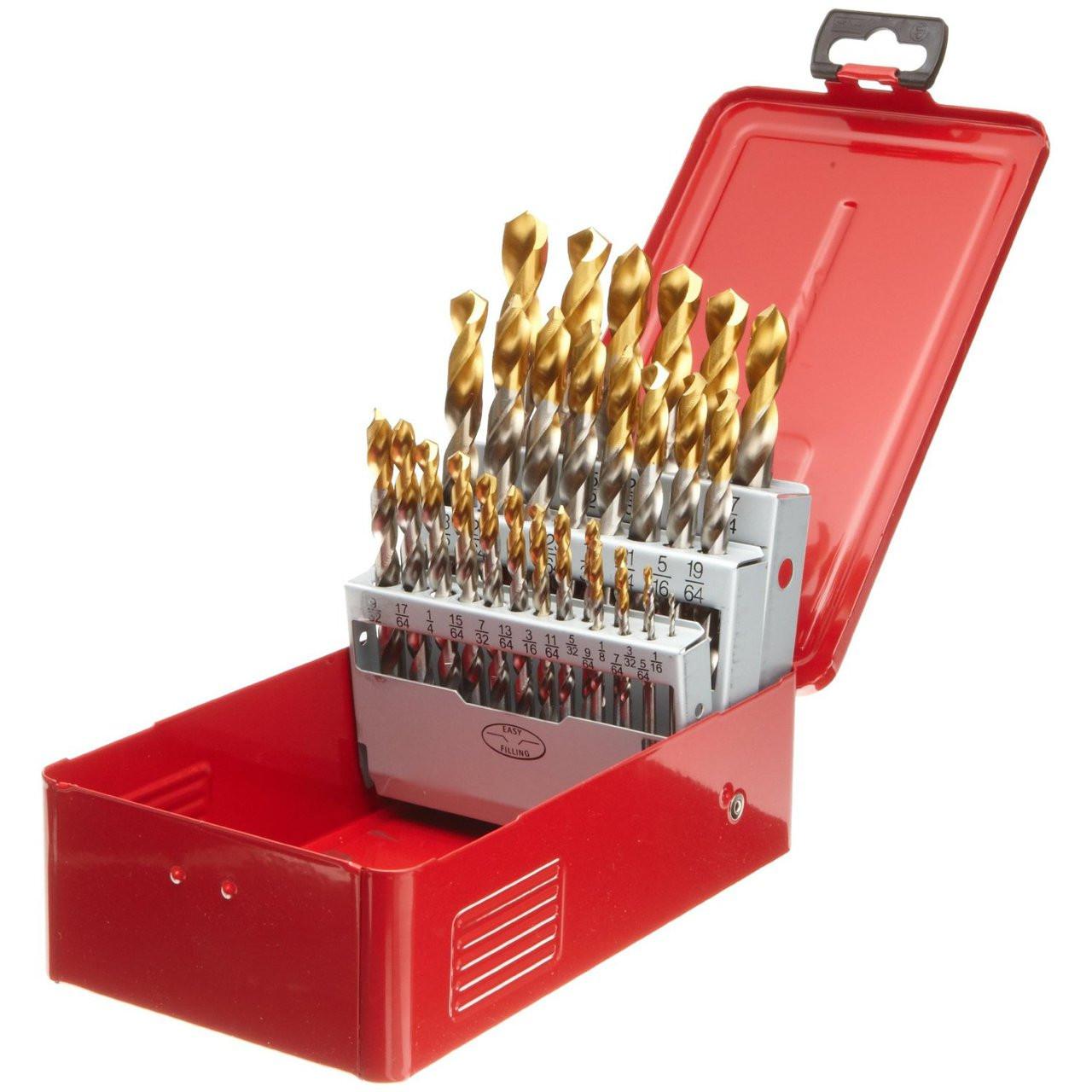 Dormer A097 18 29pc Sae Drill Bit Set 1 16 To 1 2 X 1 64