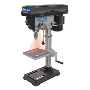 """King Canada KC-110N 10"""" 2.5A Drill Press with Laser"""