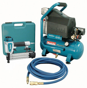Makita MAC700-KIT3  18ga Nailer + 2.6gal Compressor Combo Kit