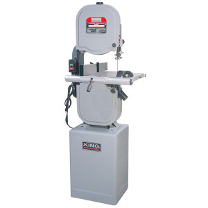"""King Industrial KC-1433FXR 14"""" 10.0A 3-Speed Bandsaw with Resaw Fence"""