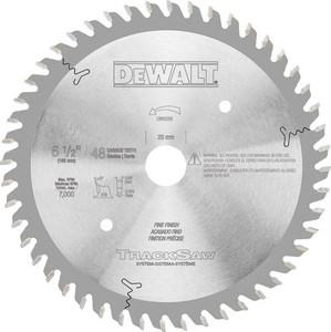 """Dewalt DW5258  6-1/2"""" 48T Blade for DWS520 TrackSaw"""