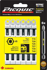 PicQuic PIQ-95003  PicQuic Torx Multipack - T15-40
