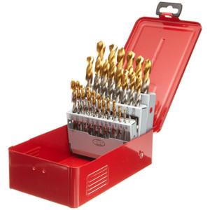 29pc SAE Drill Bit Set 1/16 to 1/2 x 1/64