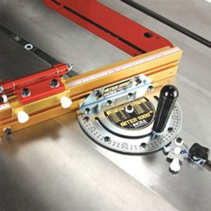 """Incra MITER1000HD  Miter with 180 Anglelock Stop,18-31"""" Tele Flip Fence & Flip Shop Stop"""
