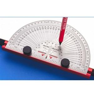 "Incra PROTRAC06  6"" Percision Marking Protractor - to"