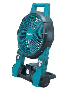 Makita BCF201Z  18V/14.4V Fan With AC Adaptor Fits Compact/Full Sized Batteries