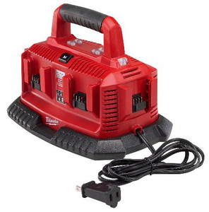 Milwaukee 48-59-1806  M18 6 Bay Sequential Charger
