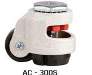 CarryMaster AC-300S  Machine Caster - With Stem M12 X 1.75