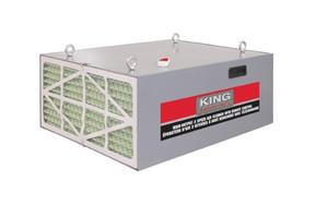 King Industrial KAC-1050  King Industrial 3 Speed Air Cleaner With Remote