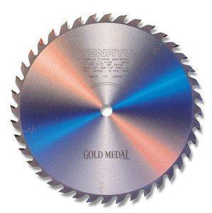 "Tenryu 10"" 40T, ATB Gold Medal Table Saw Blade"