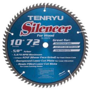 260MM (Kapex) Silencer 72t, 30mm, Ataf -0deg Mitre Saw Blades