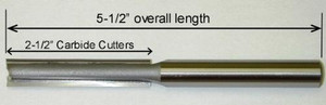"Templaco Tools Inc LRB-2TEMPLACO 1/2""Diameter x 1/2"" Shank 5-1/2""OAL 2-1/2"" Cutter Length"