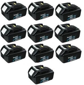 18V Lithium-Ion BL1830 10 Pack-3AH (Bulk)