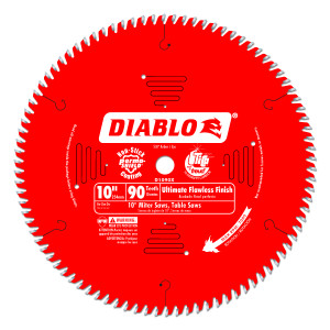 "10"" x 90 Teeth Ultimate Finish Blade"