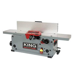 """King Industrial KC-6HJC 6"""" Bench-top jointer with helical cutter head"""