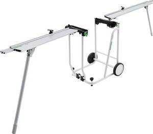 Kapex UG Mobile Miter Station with Cart and Extensions