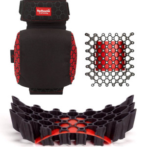 REDBACKS STRAPPED KNEE PAD EXT