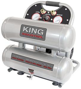 4.6 Gallon Ultra Quiet Oil Free Air Compressor