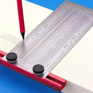 Incra TRUL150MM  150mm T-RULE - TO 0.25mm