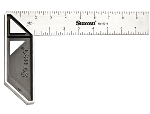 """8"""" Stainless Steel Carpenter's Try Square"""