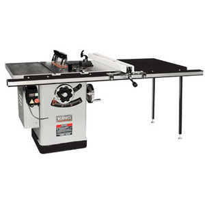 "10 Extreme Cabinet Saw With Riving Knife Blade Guard System - 50"" Rail"