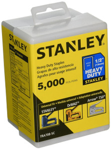 Stanley Hand Tools TRA708-5C  1/2-Inch Heavy Duty Staples, 5000 Units