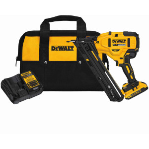 Dewalt DCN650D1  20V Max XR 15 Ga Angled Finish Nailer - Kit