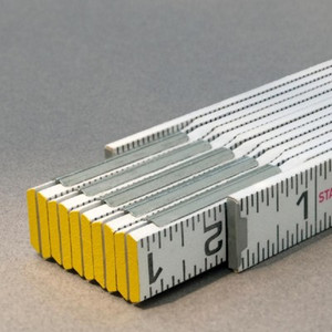Stabila STAB-80010  Engineers Folding Ruler - Modular 1/16ths scale both edges-outside