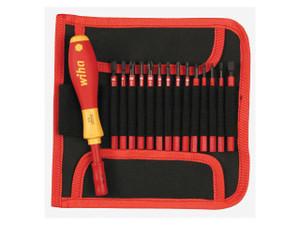 Wiha WIHA-28390  Insulated Slim 15 Piece Screwdriver Set
