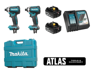 "18V 2 Piece Brushless 1/4"" Cordless Impact Driver Combo Kit"