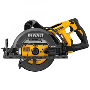 Flexvolt 60V MAX 7-1/4 in Brushless Worm Drive Style Saw (Tool Only)
