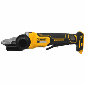 "Dewalt DCG413FB   20V MAX 5"" Flathead Paddle Switch Small Angle Grinder With Kickback Brake (Tool Only)"