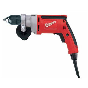 "Milwaukee 0302-20  1/2"" Magnum Drill, 0-850 RPM with All Metal Chuck and QUIK-LOK cord"
