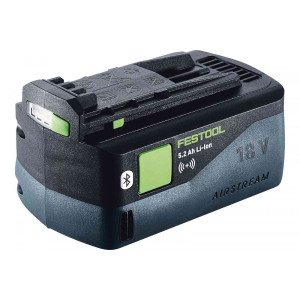 Bluetooth 18V Airstream Lithium Ion Battery, 5.2AH