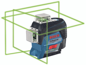 Bosch GLL3-330CG  360 Degree Connected Green-Beam Three-Plane Leveling