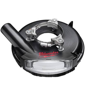 "Milwaukee 49-40-6105  7"" Universal Surface Grinding Dust Shroud"