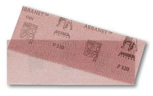 Mirka Abrasives 9A-150-X  Abranet Sanding Net Grip Sheet - 2.75 In. x 8 In. - 50 Pack