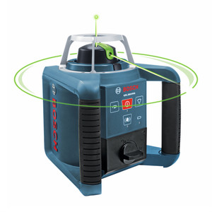 Self-leveling Green Rotary Laser