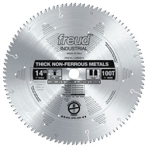 """14"""" 100 Tooth Thick Non-ferrous Metal Blade"""