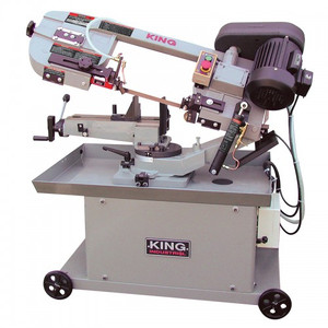 "7"" X 12"" Metal Cutting Dual Swivel Bandsaw"