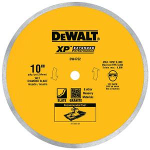 """Dewalt DW4762  10"""" Porcelain Tile Blade"""