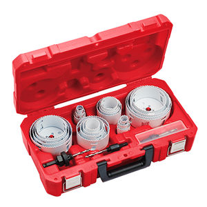 28 PC All Purpose Professional Hole Dozer Hole Saw Kit